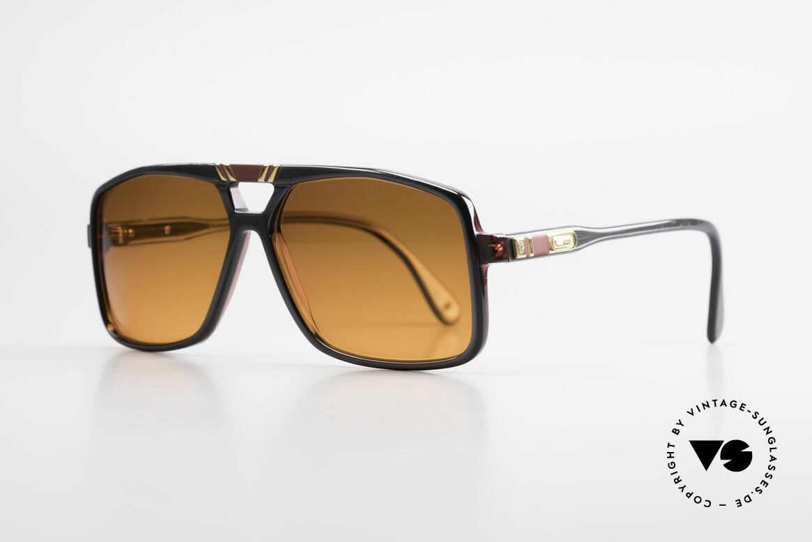 Cazal 637 80's Hip Hop Shades Sunset, part of the legendary US HipHop scene in the 80's, Made for Men