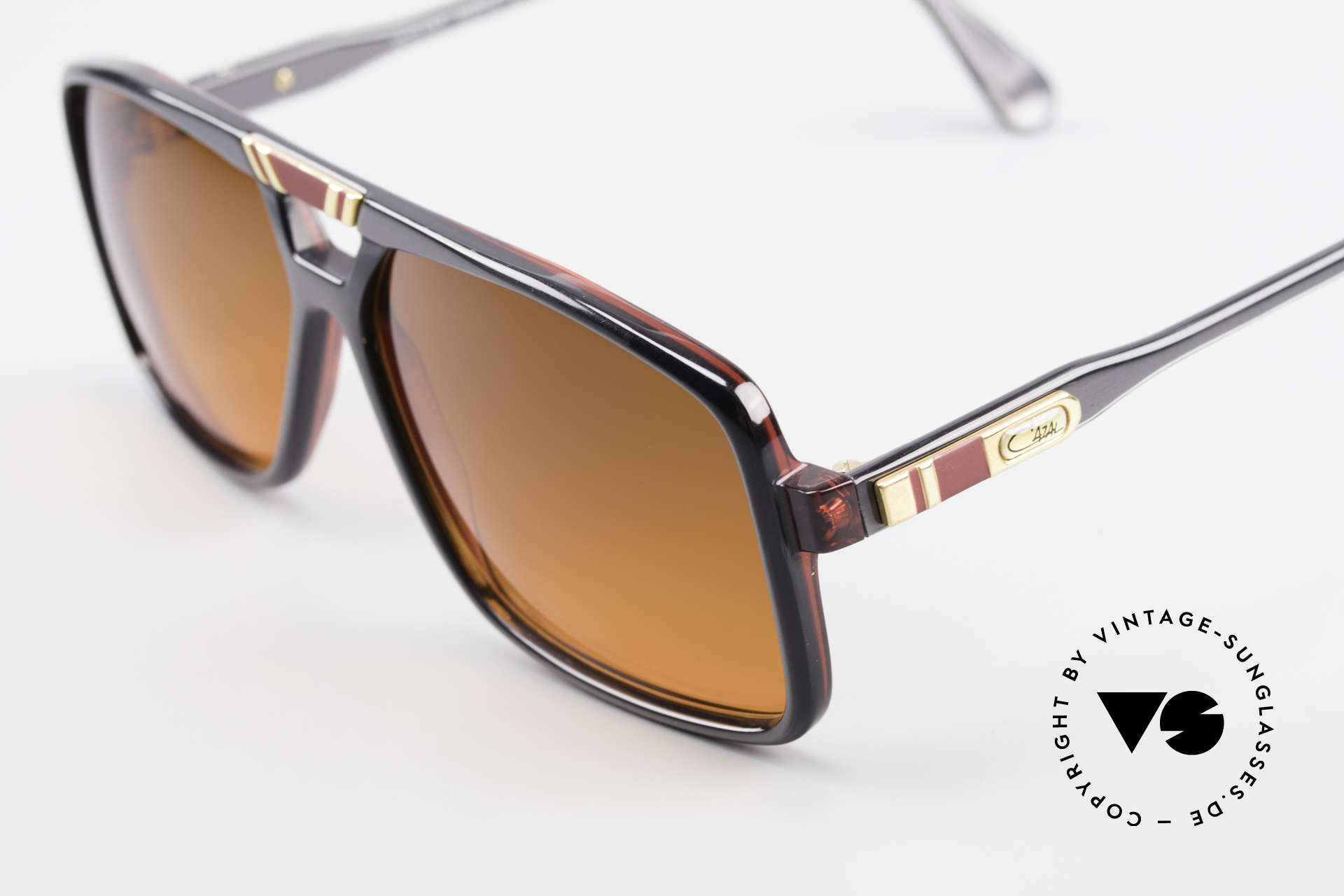 Cazal 637 80's Hip Hop Shades Sunset, new old stock (like all our vintage CAZAL shades), Made for Men