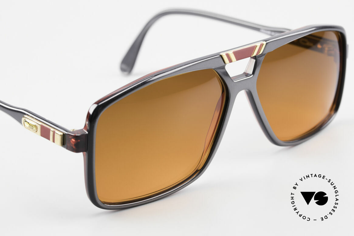 Cazal 637 80's Hip Hop Shades Sunset, NO RETRO, but an old masterpiece, in L size 60/14, Made for Men