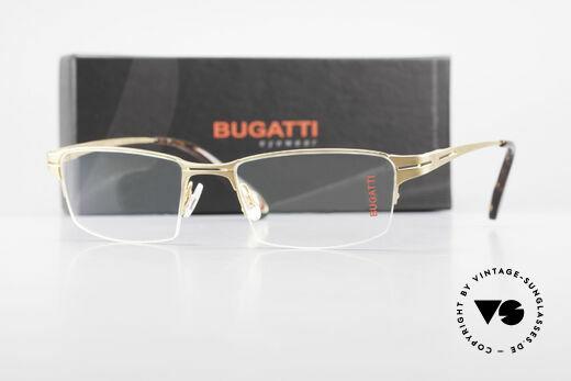 Bugatti 456 Nylor Titan Frame Gold-Plated