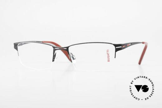 Bugatti 456 Titanium Eyeglass-Frame Nylor Details