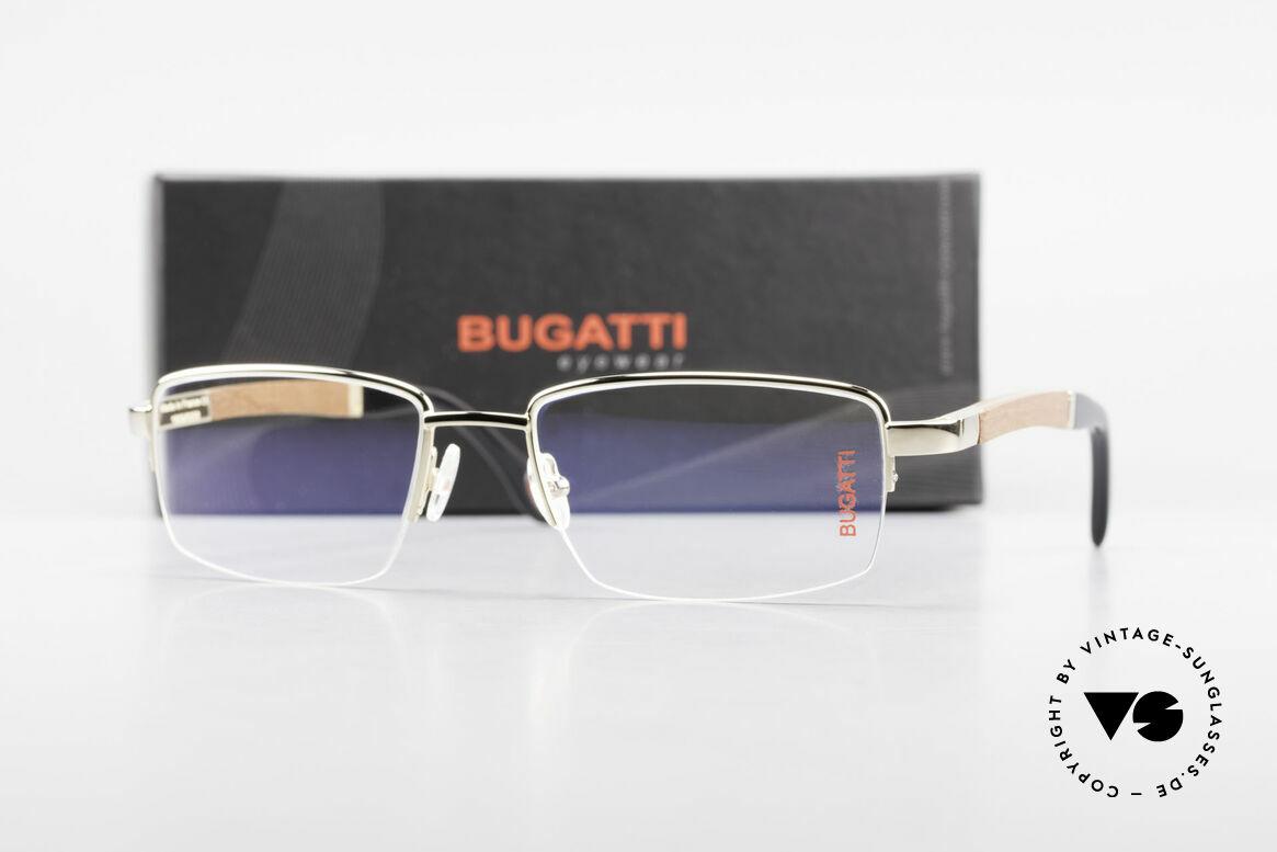 Bugatti 547 Precious Padouk Wood Gold L