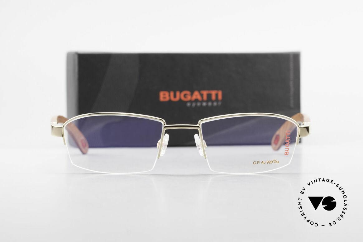 Bugatti 473 Kotibé Precious Wood Gold