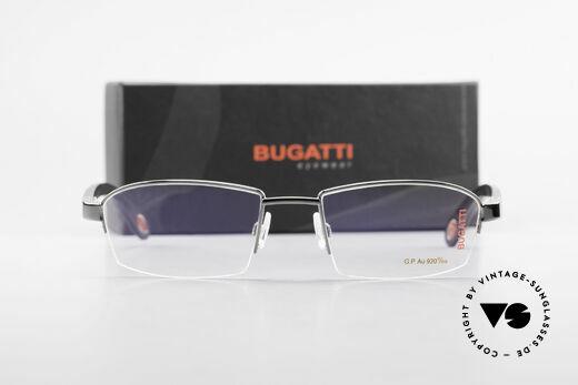 Bugatti 473 Precious Ebony Gray Gold, Size: large, Made for Men