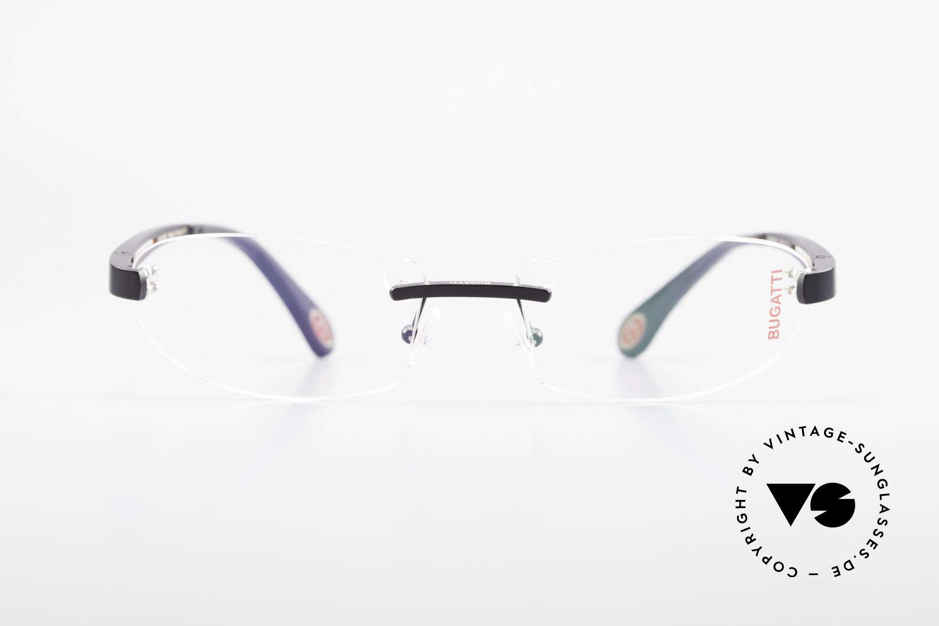 Bugatti 516 Luxury Rimless Glasses Men, sporty frame and lens design ... striking masculine, Made for Men
