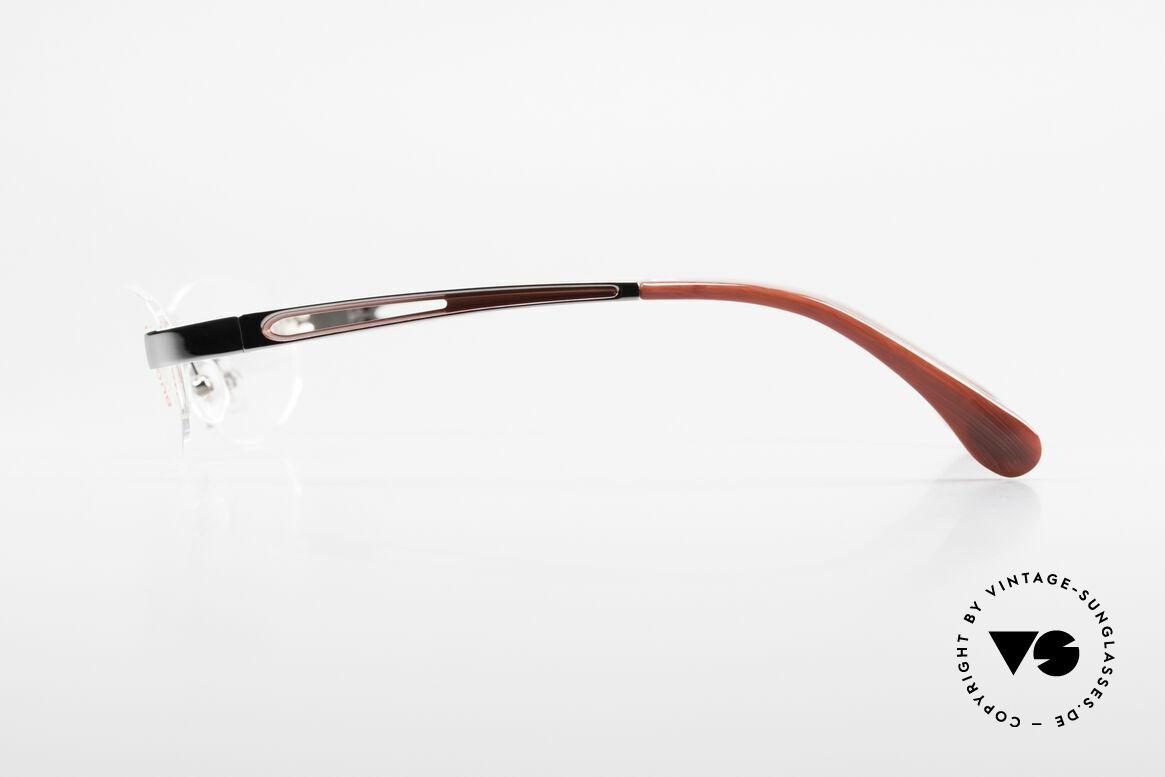 Bugatti 516 Rimless Eyeglasses For Men, top-notch craftsmanship (Ruthenium plated frame), Made for Men