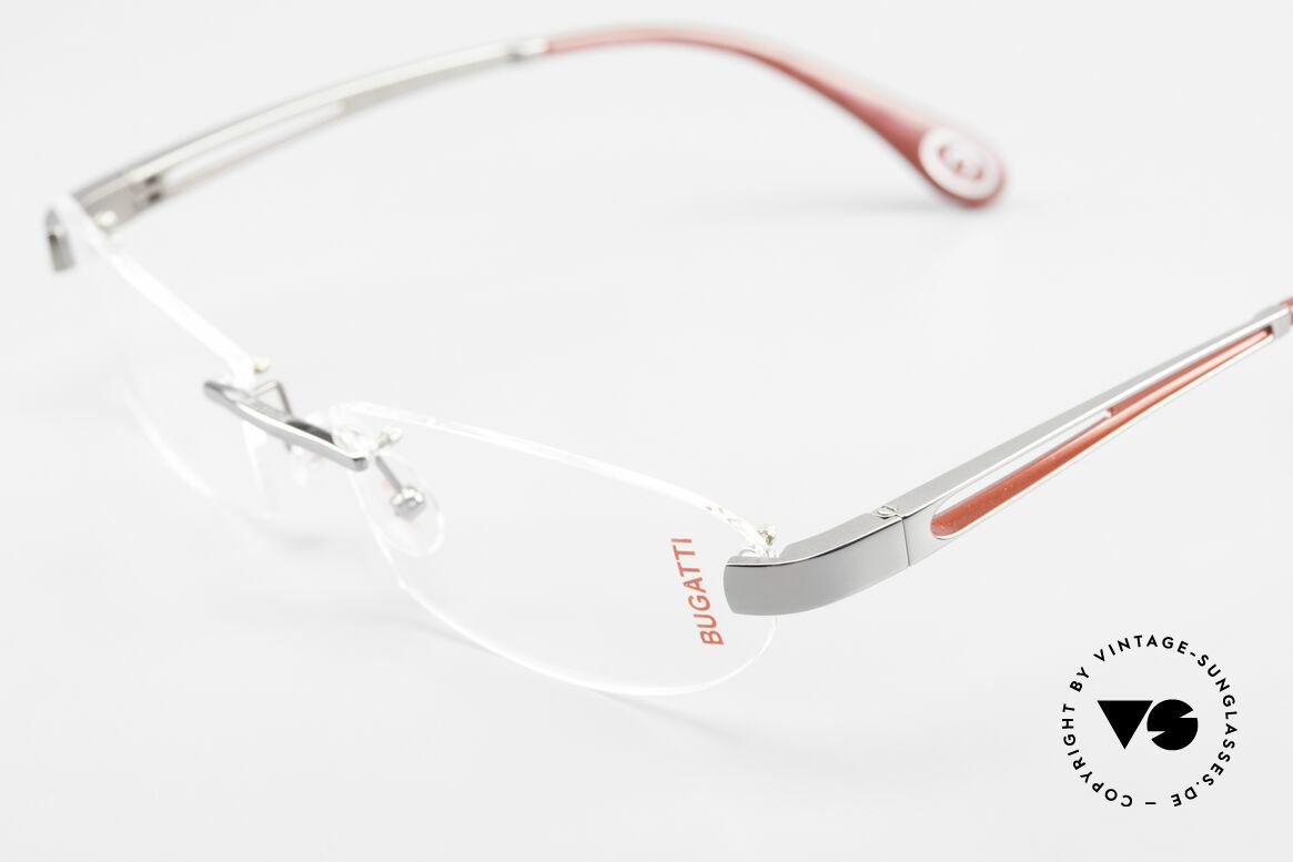 Bugatti 516 Rimless Eyeglasses For Men, unworn (like all our rare vintage Bugatti eyeglasses), Made for Men