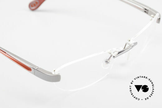 Bugatti 516 Rimless Eyeglasses For Men, NO RETRO EYEWEAR, but a costly rarity, size 56/18, Made for Men