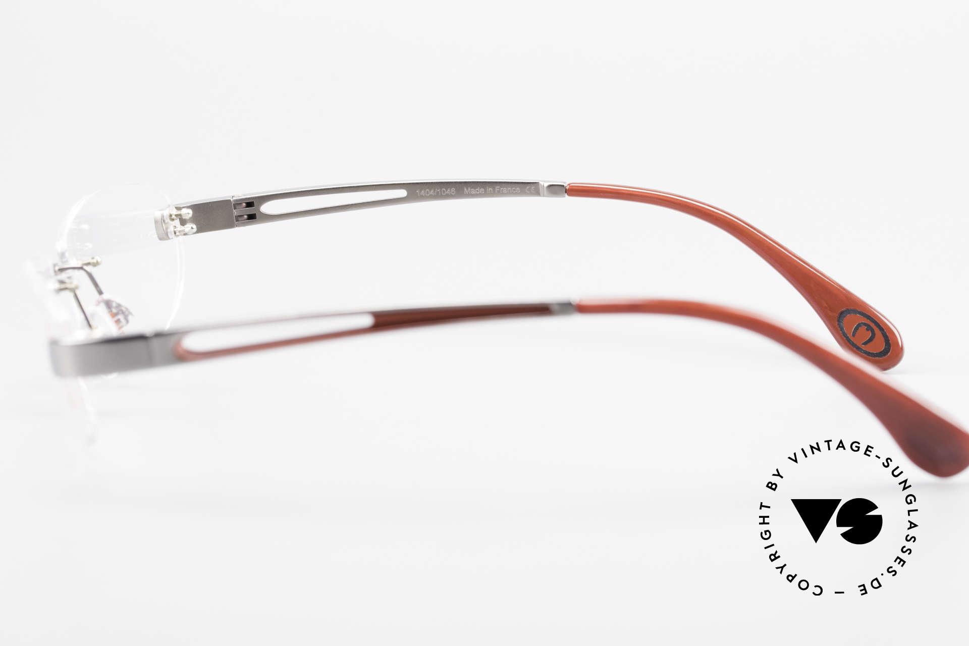 Bugatti 516 Rimless Eyeglasses For Men, Size: medium, Made for Men