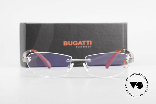 Bugatti 516 Rimless Eyeglasses For Men, Size: medium, Made for Men