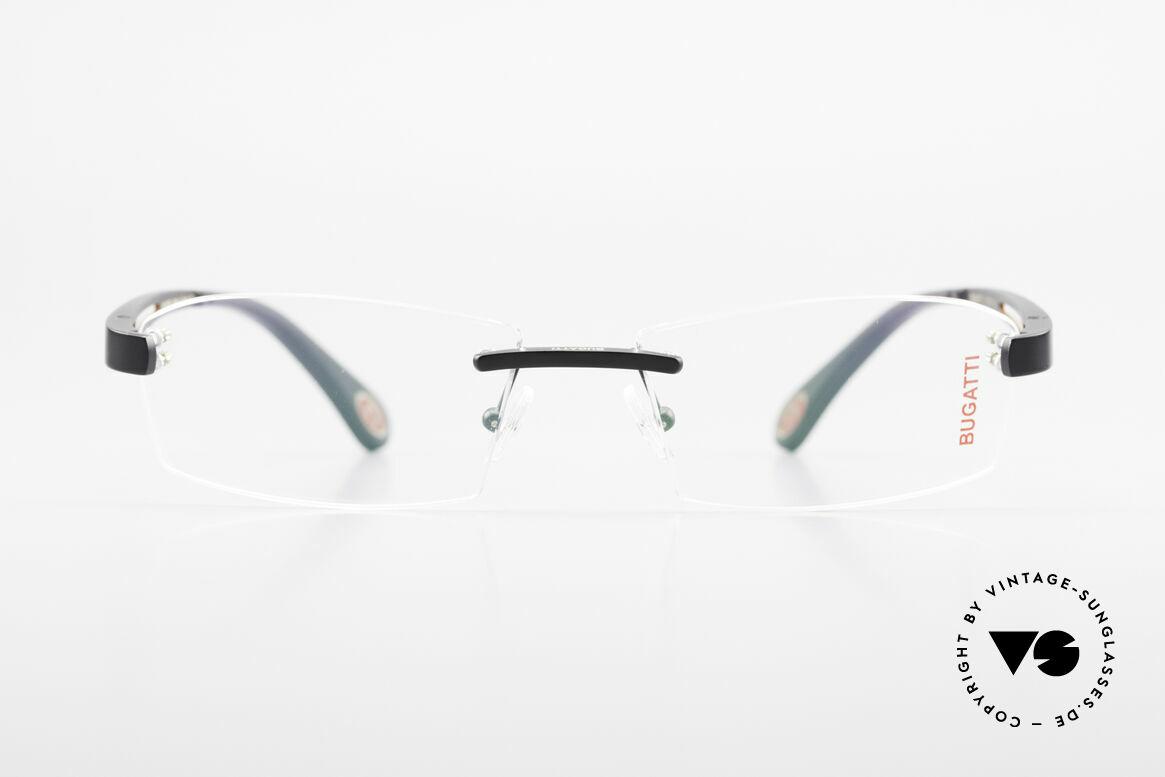 Bugatti 515 Rimless Designer Glasses Men