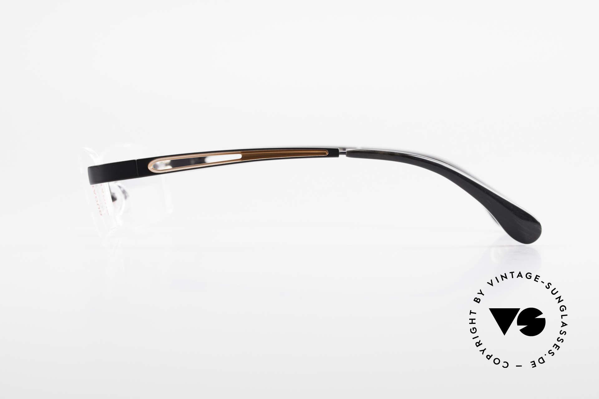Bugatti 515 Rimless Designer Glasses Men, top-notch craftsmanship: satin black finished frame, Made for Men
