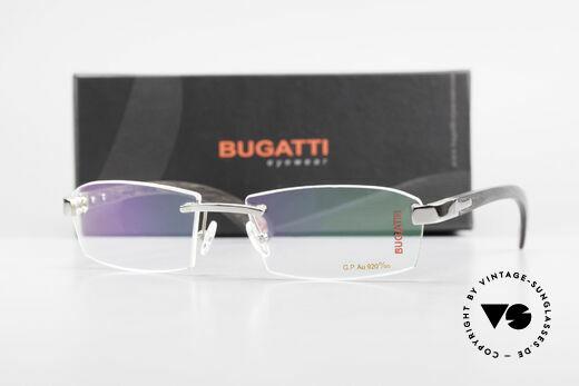 Bugatti 517 Precious Ebony White Gold, Size: large, Made for Men
