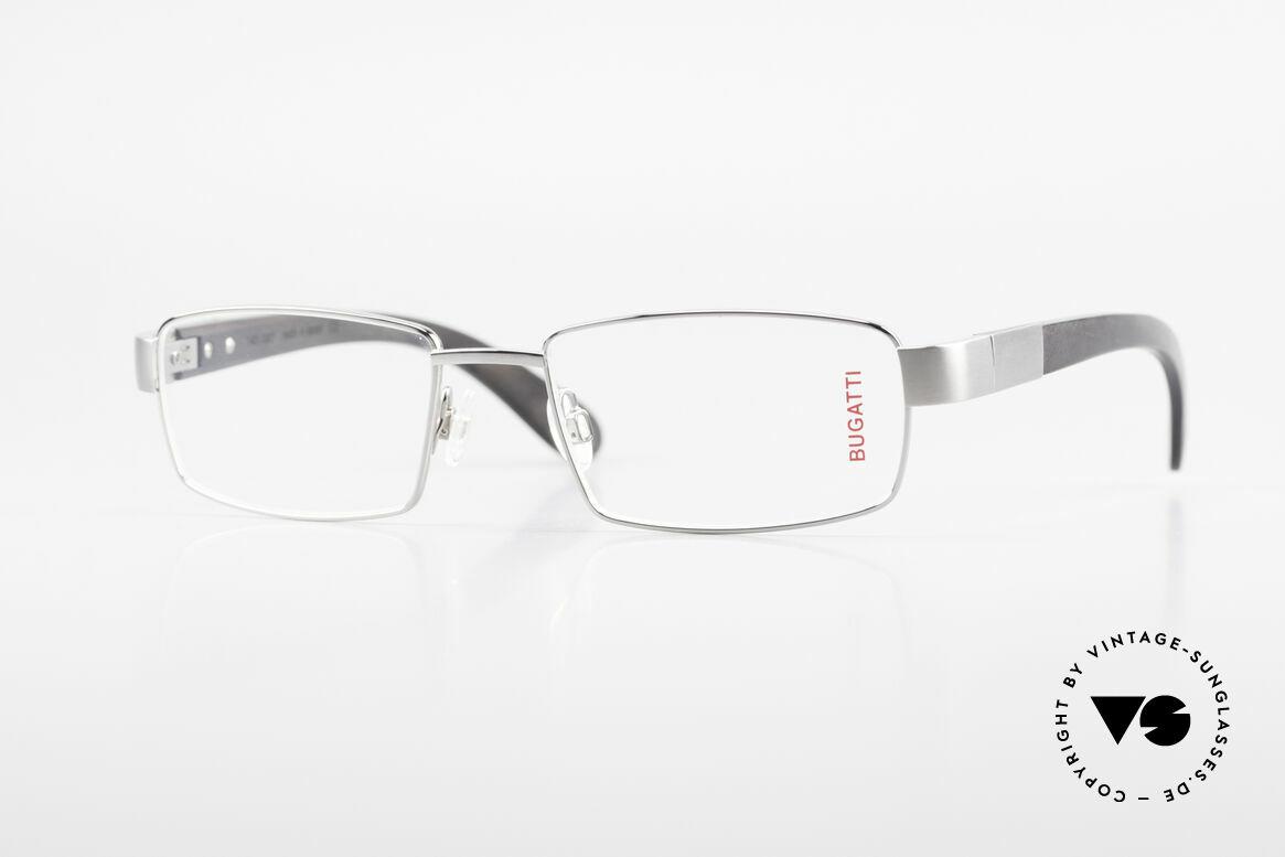 Bugatti 531 Ebony Titan Frame Ruthenium, luxury eyeglasses by BUGATTI, TOP-NOTCH quality, Made for Men