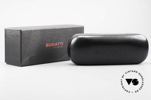 Bugatti 531 Ebony Titan Frame Ruthenium, Size: medium, Made for Men