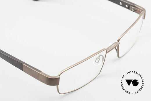 Bugatti 531 Ebony Titanium Eyeglass-Frame, the model is definitely at the top of the eyewear sector, Made for Men