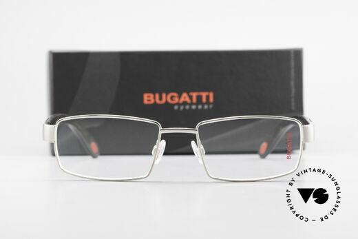 Bugatti 531 Ebony Titan Frame Palladium, Size: medium, Made for Men