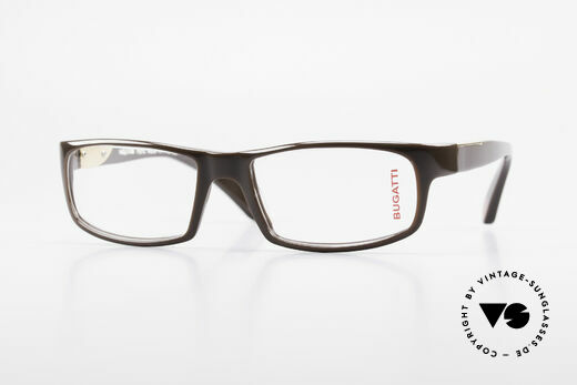Bugatti 532 Striking Men's Eyeglass-Frame Details