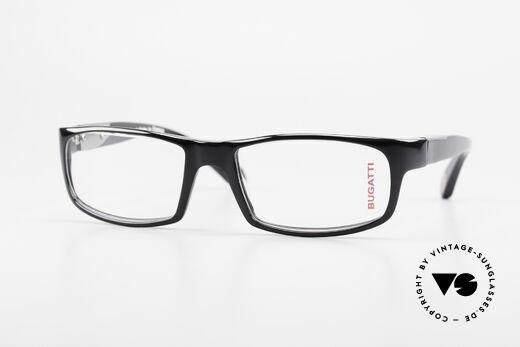 Bugatti 532 Classic Luxury Eyeglasses Men Details