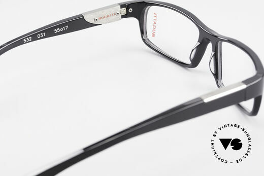 Bugatti 532 Classic Luxury Eyeglasses Men, the frame is made for optical lenses / sun lenses, Made for Men