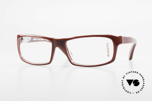 Bugatti 533 Men's Designer Luxury Glasses Details