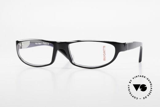 Bugatti 534 Classic Men's Glasses Luxury Details