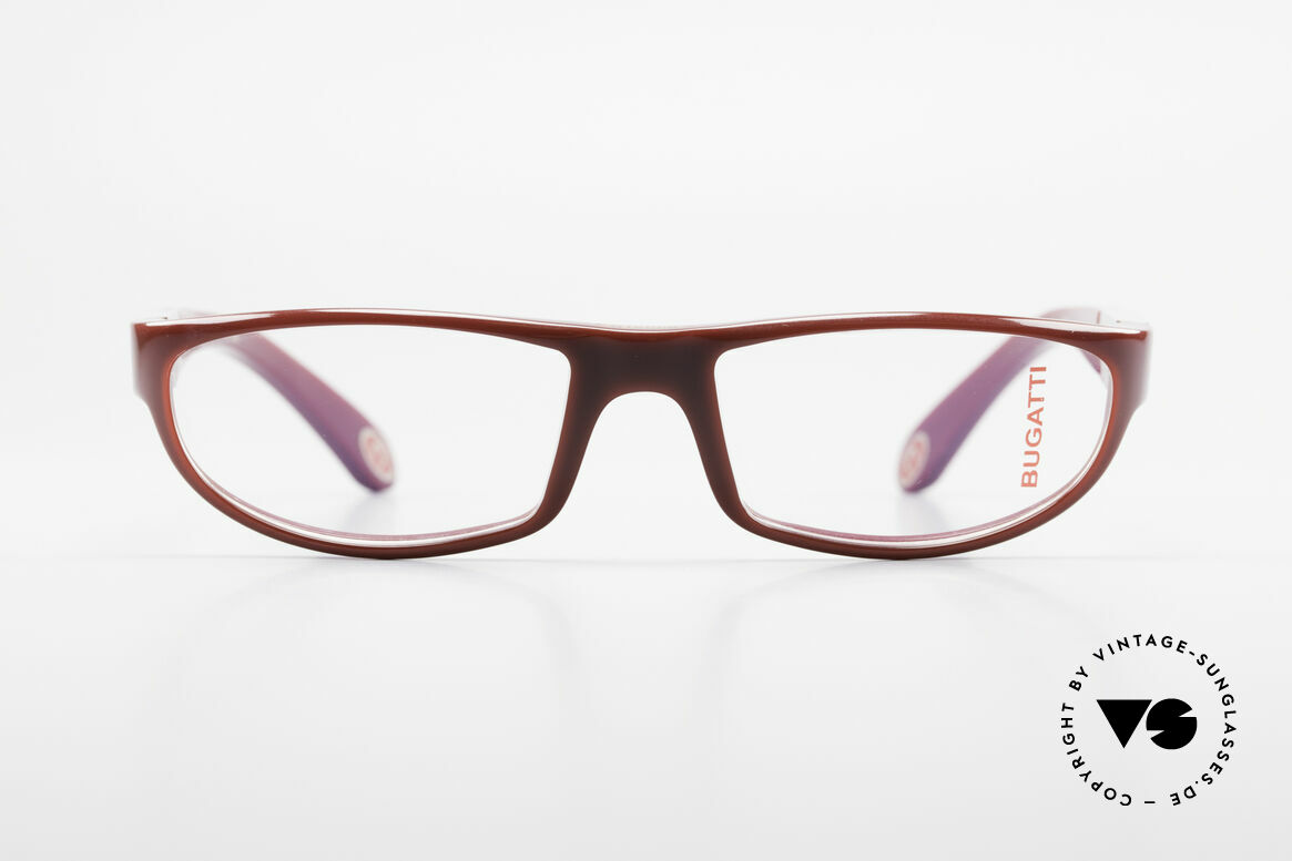 Bugatti 534 Striking Plastic Eyeglass-Frame, premium quality of all parts and components, Made for Men
