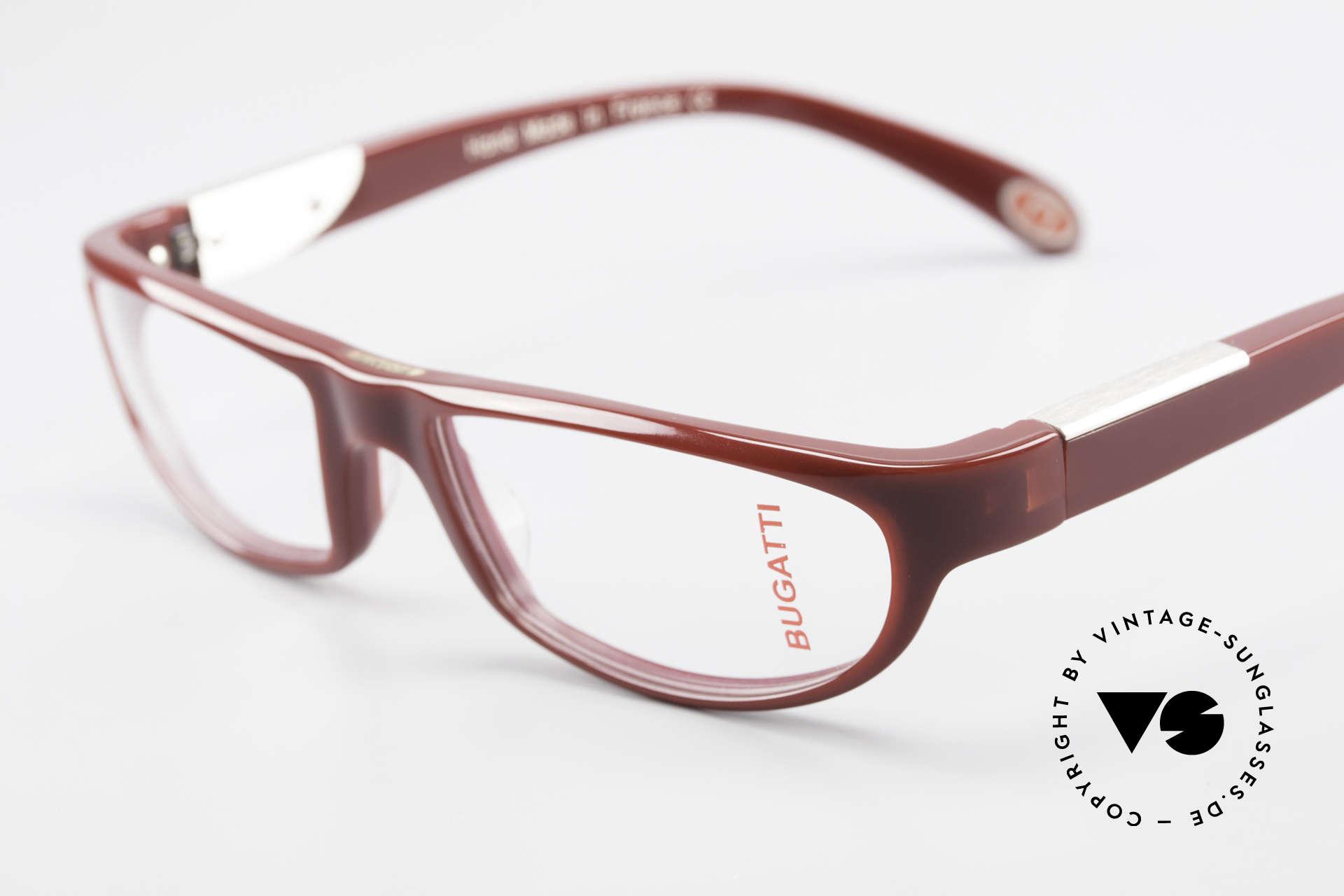 Bugatti 534 Striking Plastic Eyeglass-Frame, true rarity (limited-lot production by Bugatti), Made for Men