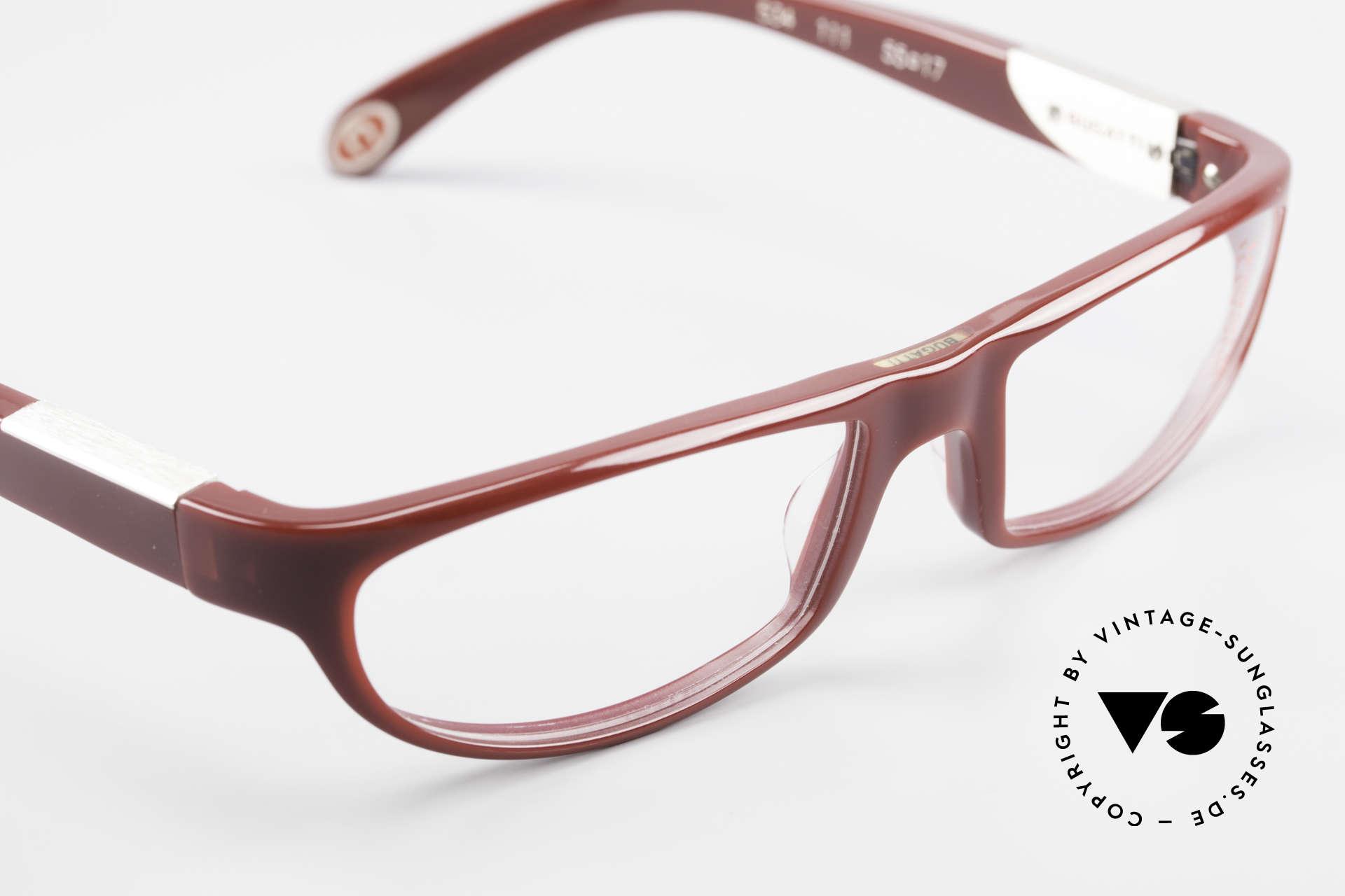 Bugatti 534 Striking Plastic Eyeglass-Frame, unworn model comes with orig. case & packing, Made for Men