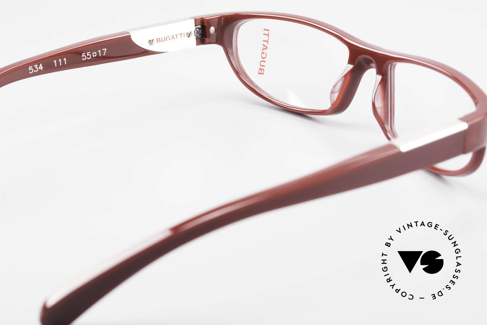 Bugatti 534 Striking Plastic Eyeglass-Frame, the frame is made for optical lenses / sun lenses, Made for Men