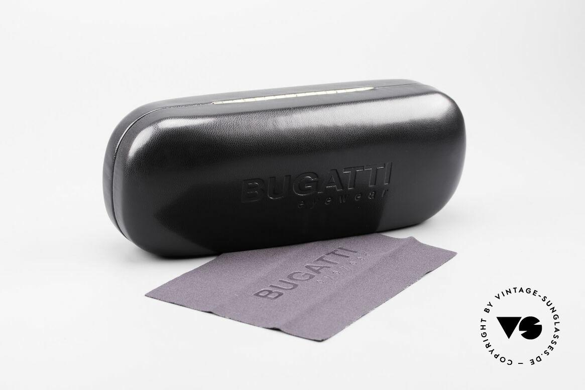 Bugatti 534 Striking Plastic Eyeglass-Frame, Size: medium, Made for Men