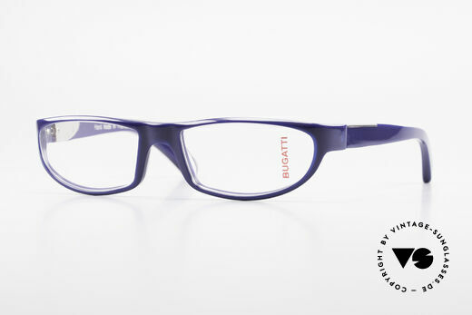 Bugatti 534 Men's Striking Plastic Frame Details