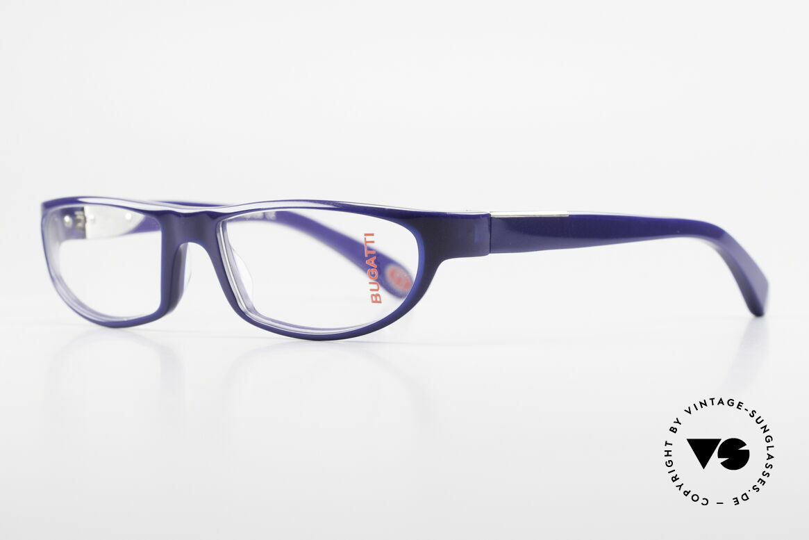 Bugatti 534 Men's Striking Plastic Frame, 1. class wearing comfort due to spring hinges, Made for Men