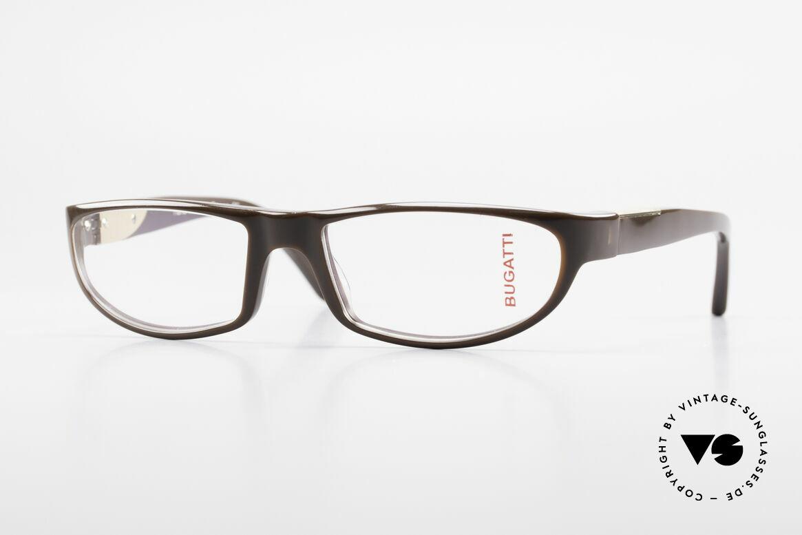 Bugatti 534 Men's Plastic Luxury Glasses, striking plastic eyeglass-frame by BUGATTI, Made for Men