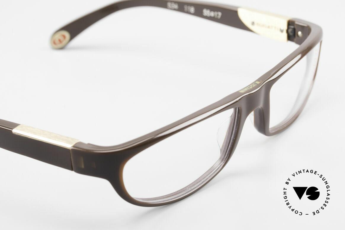 Bugatti 534 Men's Plastic Luxury Glasses, unworn model comes with orig. case & packing, Made for Men