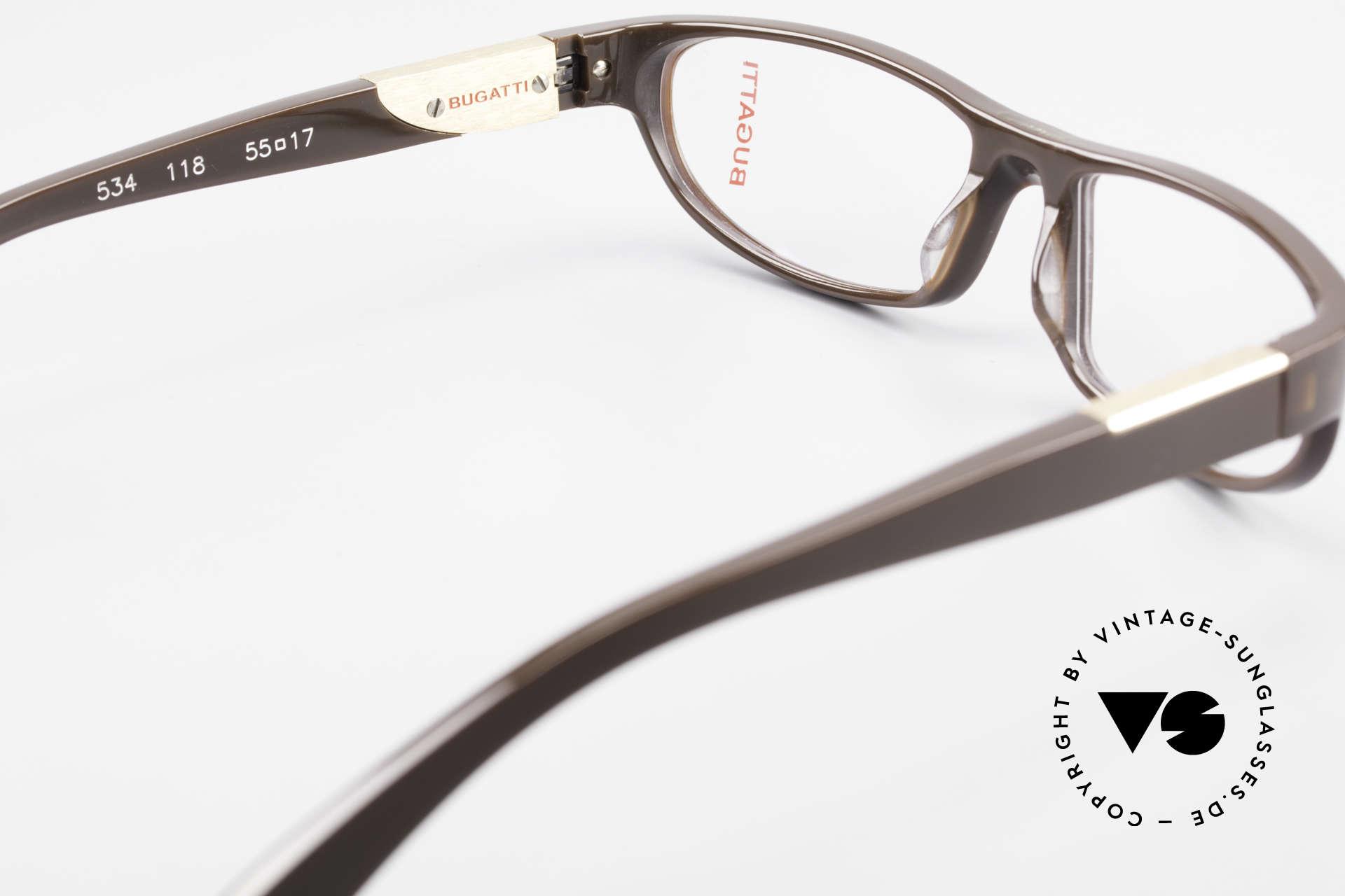 Bugatti 534 Men's Plastic Luxury Glasses, the frame is made for optical lenses / sun lenses, Made for Men