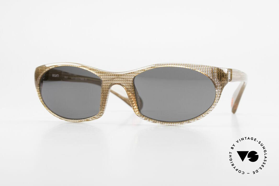 Bugatti 328 Odotype Rare Men's Designer Sunglasses, SPORTY high-tech sunglasses by BUGATTI, Made for Men