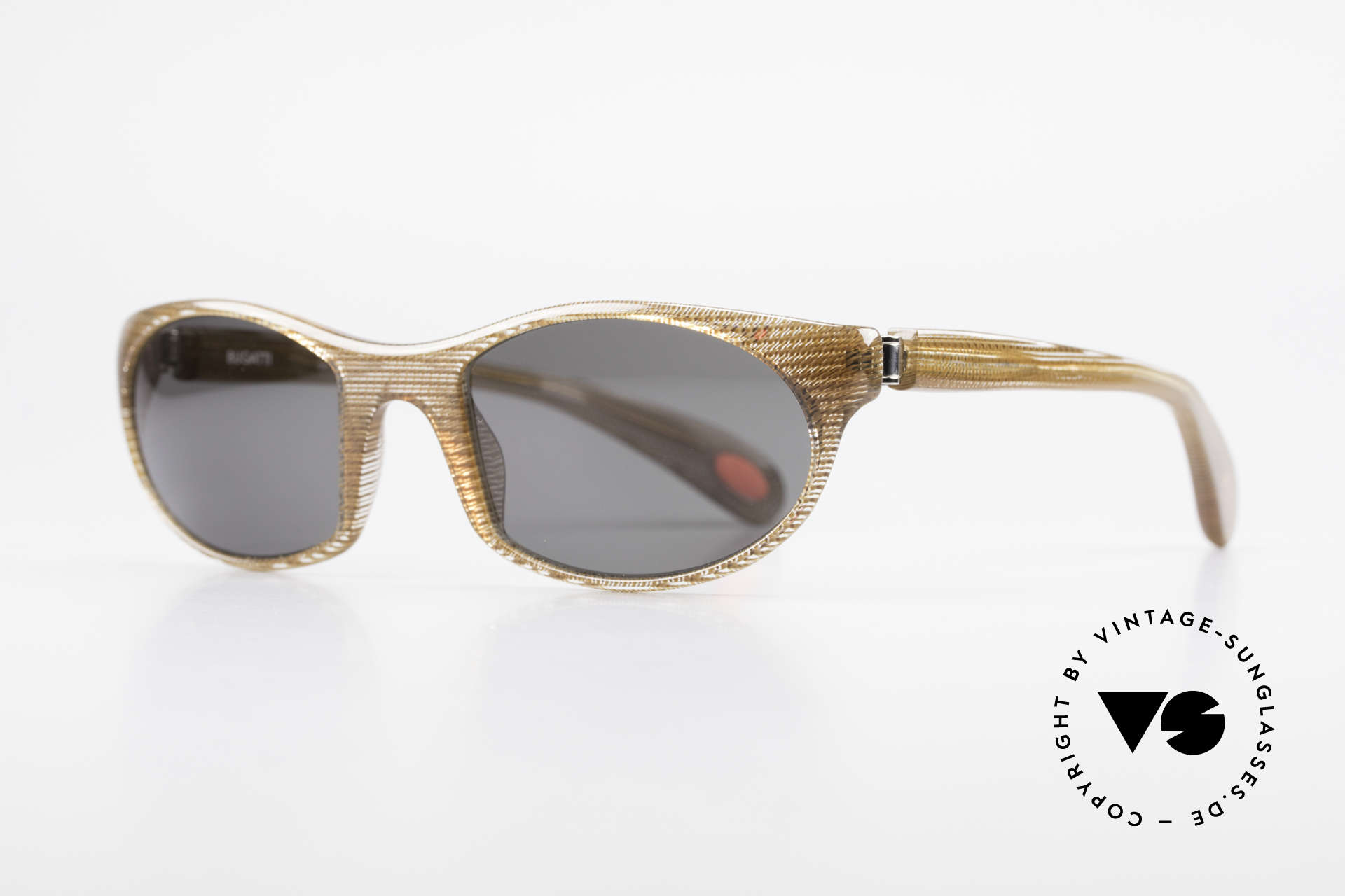 Bugatti 328 Odotype Rare Men's Designer Sunglasses, ergonomic frame with 180°-spring hinges!, Made for Men