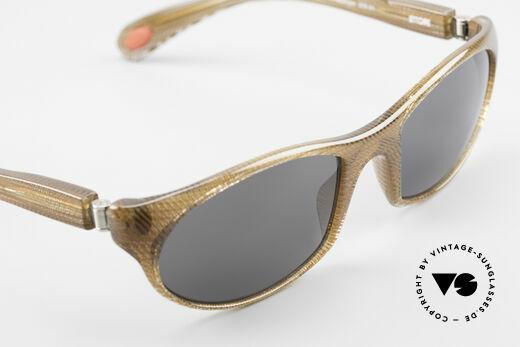 Bugatti 328 Odotype Rare Men's Designer Sunglasses, in very elegant crystal-brown frame pattern, Made for Men