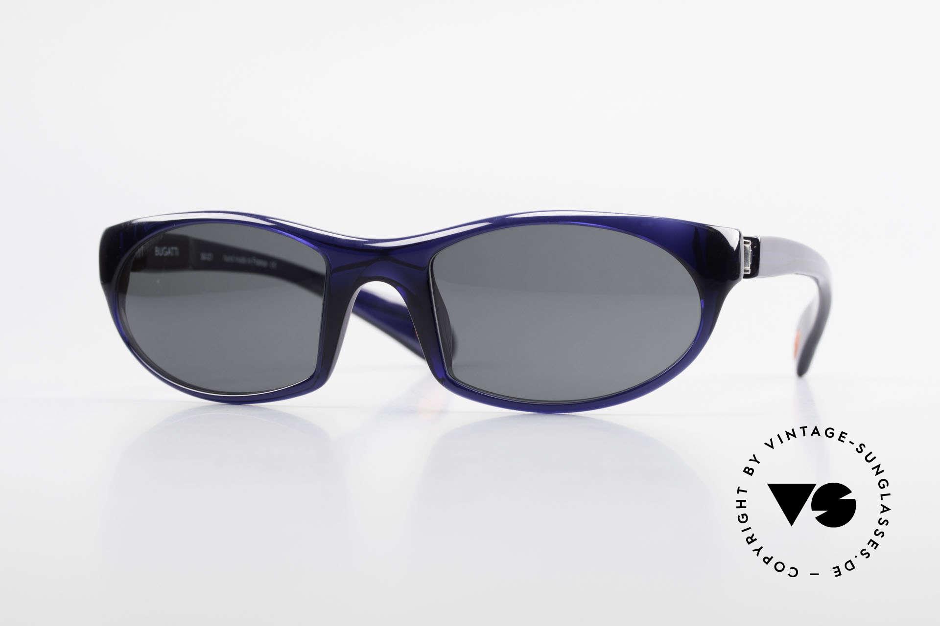 Bugatti 328 Odotype Men's Rare Designer Sunglasses, SPORTY high-tech sunglasses by BUGATTI, Made for Men