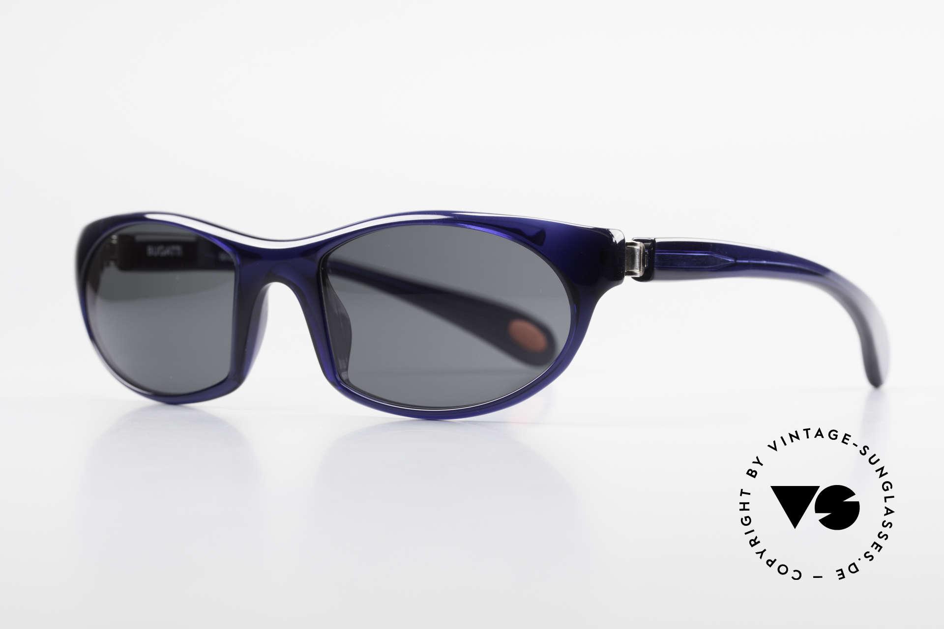 Bugatti 328 Odotype Men's Rare Designer Sunglasses, ergonomic frame with 180°-spring hinges!, Made for Men