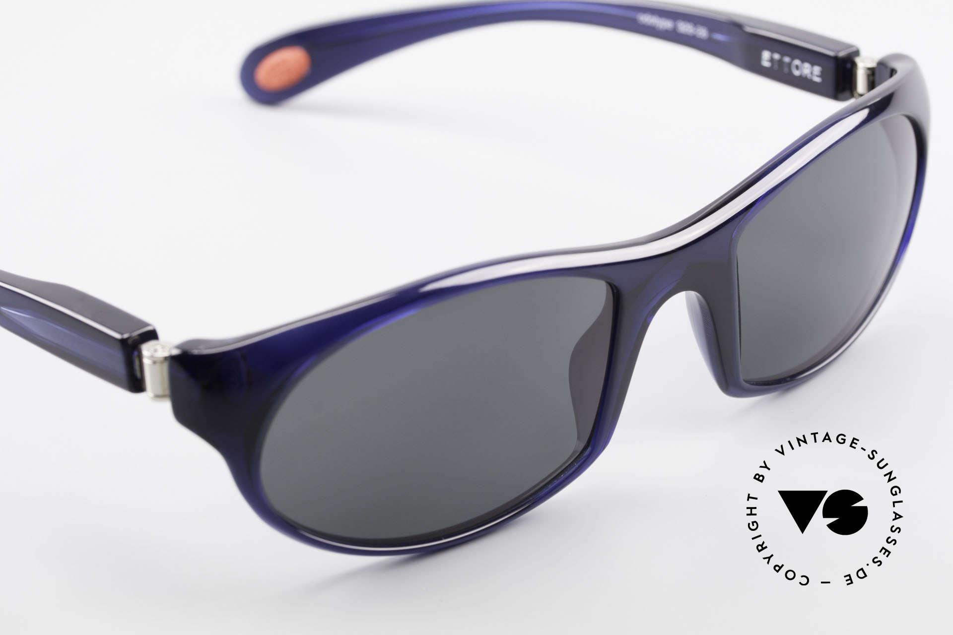"Bugatti 328 Odotype Men's Rare Designer Sunglasses, with very elegant frame color in ""night blue"", Made for Men"