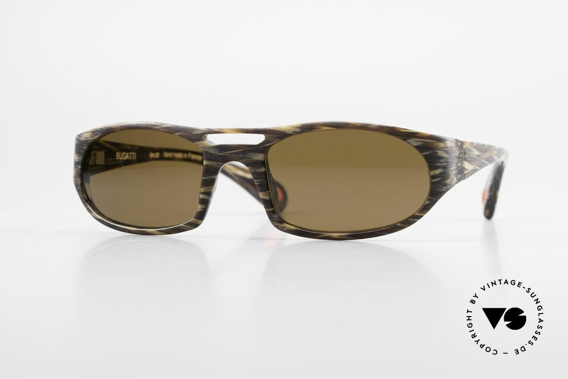 Bugatti 220 Rare Designer Luxury Shades, striking HIGH-TECH sunglasses by BUGATTI, Made for Men