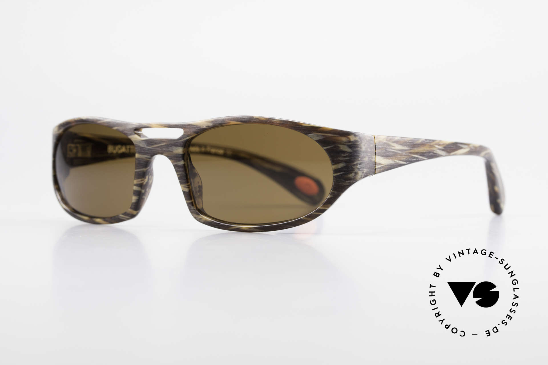Bugatti 220 Rare Designer Luxury Shades, 1. class wearing comfort due to spring hinges, Made for Men