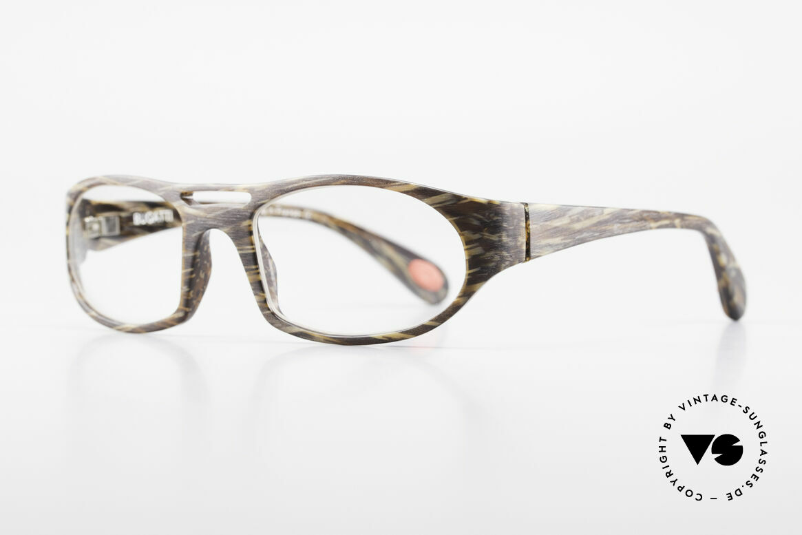 Bugatti 220 Men's Designer Luxury Glasses, 1. class wearing comfort due to spring hinges, Made for Men