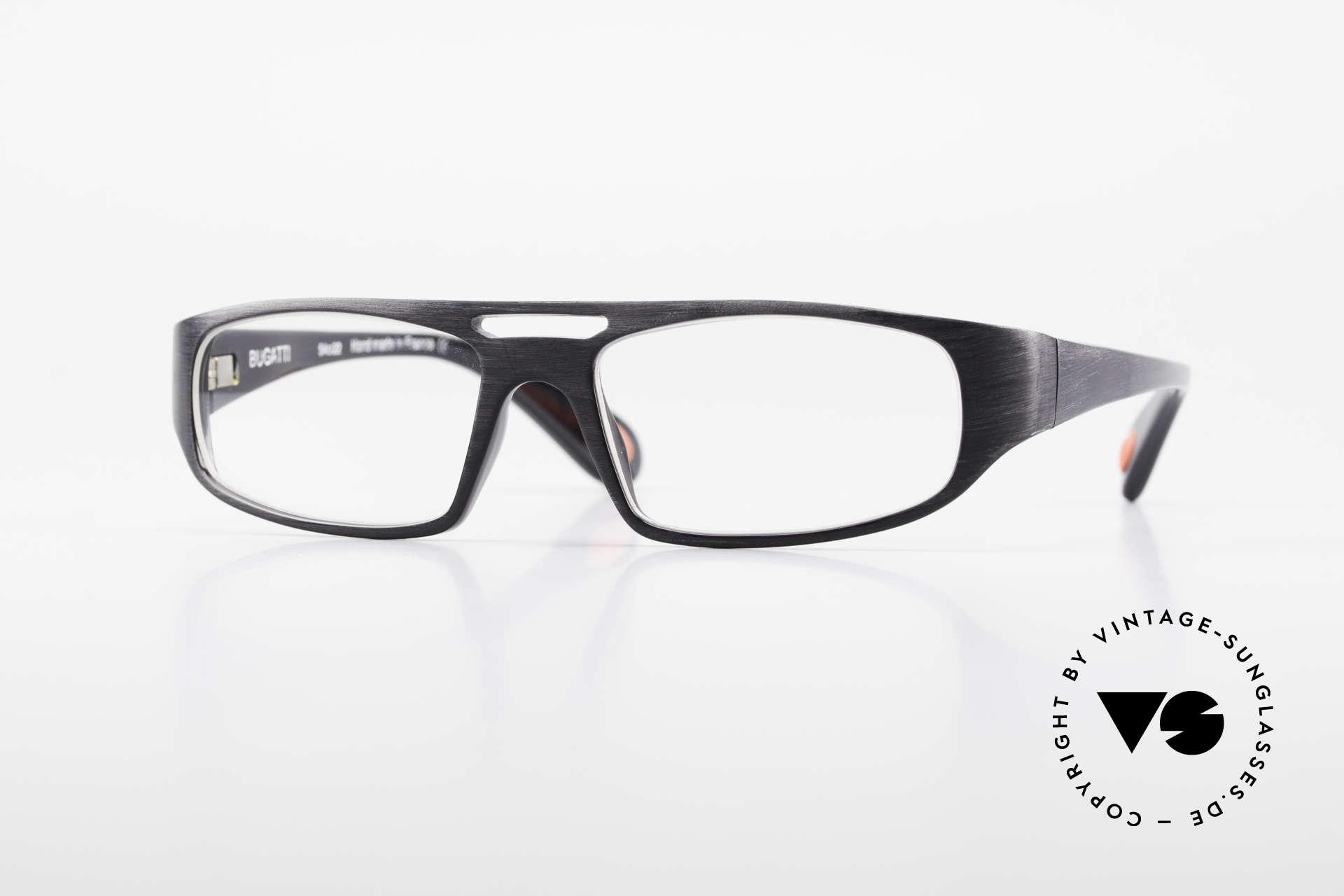 Bugatti 222 Extraordinary Vintage Glasses, striking vintage eyeglass-frame by BUGATTI, Made for Men