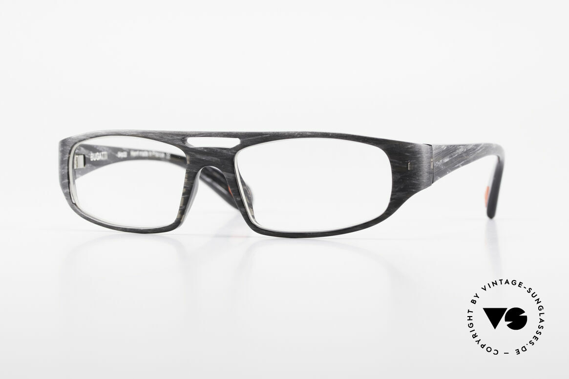Bugatti 222 Striking Designer Spectacles, striking vintage eyeglass-frame by BUGATTI, Made for Men