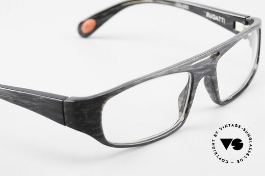 Bugatti 222 Striking Designer Spectacles, interesting frame construction & frame pattern, Made for Men