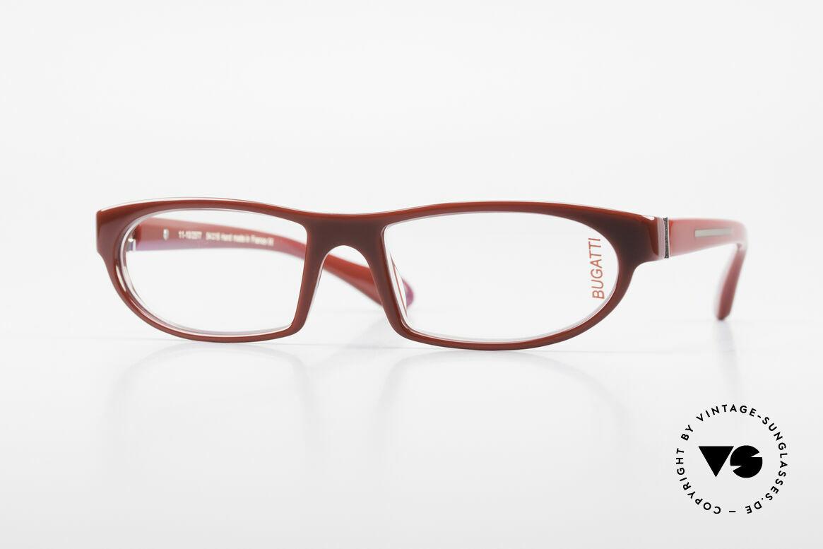 Bugatti 489 Sporty Designer Eyeglasses, striking high-tech eyeglass-frame by BUGATTI, Made for Men