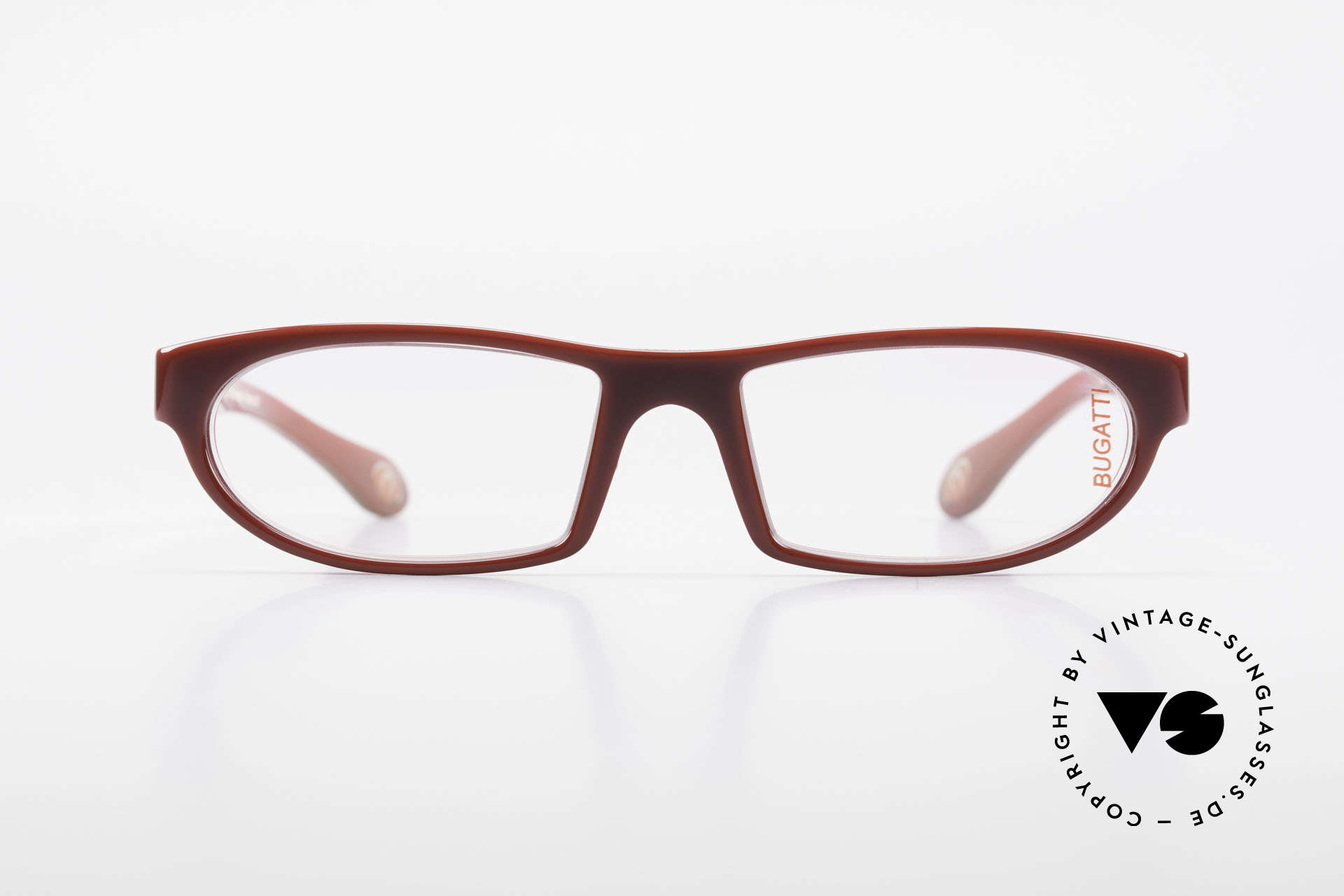 Bugatti 489 Sporty Designer Eyeglasses, TOP-NOTCH quality of all frame components, Made for Men